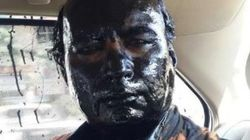 Suspected Shiv Sainiks Smear Black Ink On Organiser Sudheendra Kulkarni's Face On Day Of Kasuri Book