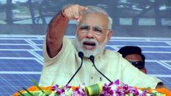 PM Modi Attacks Nitish, Lalu Using Sting Video Of JDU Minister Taking