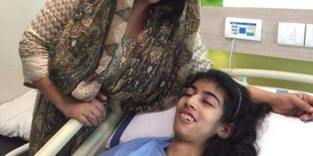 Pakistani Girl Saba Recovers In Mumbai Hospital After Overwhelming Support From