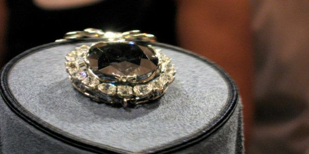 The Hope Diamond at the Smithsonian's Natural History