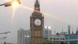 The 'Big Ben' In The Viral Photo From Kolkata Is NOT A Durga Puja