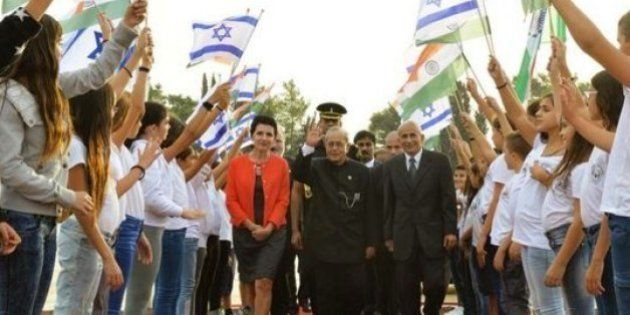 When President Pranab Mukherjee Said Indians Love Hummus, Israel Heard