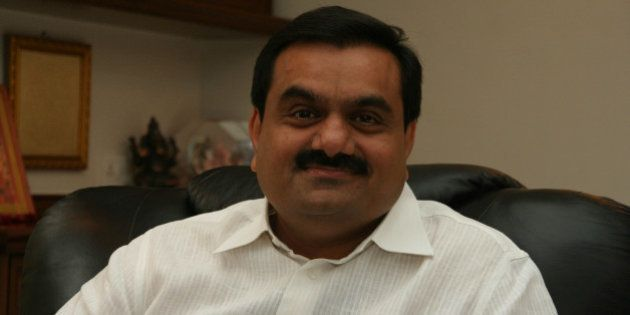 AHMEDABAD, INDIA - JULY 19: Chairman Of Adani Group Gautam Adani poses for a profile shoot during an...