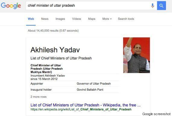 Google Algorithm Is Hilariously Clueless About India's Chief
