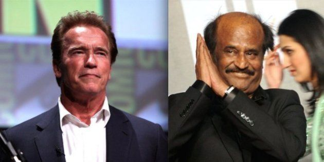 Arnold Schwarzenegger Will Make His Indian Film Debut Alongside Rajinikanth In 'Enthiran'