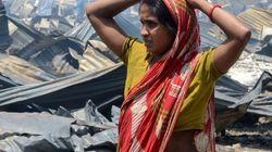 Major Fire Burns Down Over 400 Slum Quarters In