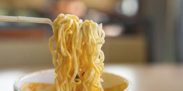 Instant noodle is a convenient and delicious
