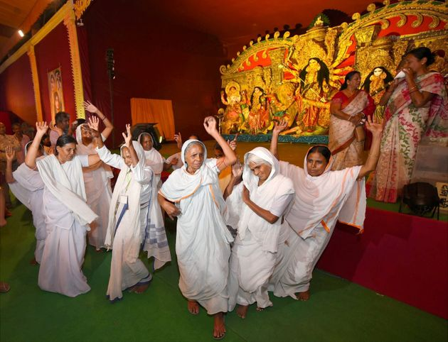 With Its Theme Of Women Empowerment, This Pandal Conveys The True Ethos Of Durga