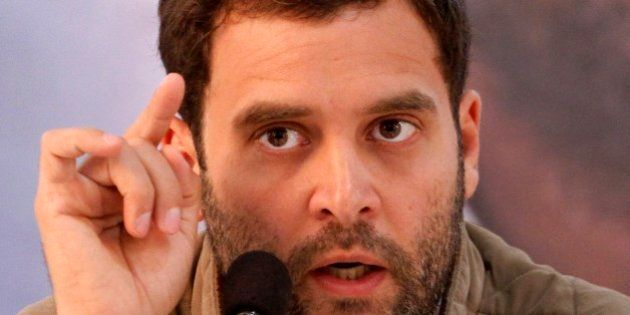 In this Monday, Feb. 6, 2012 file photo, India's ruling Congress party leader Rahul Gandhi speaks during...