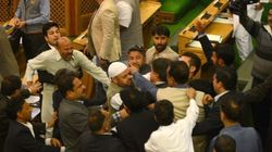 J&K Lawmaker Engineer Rashid Attacked With Ink In