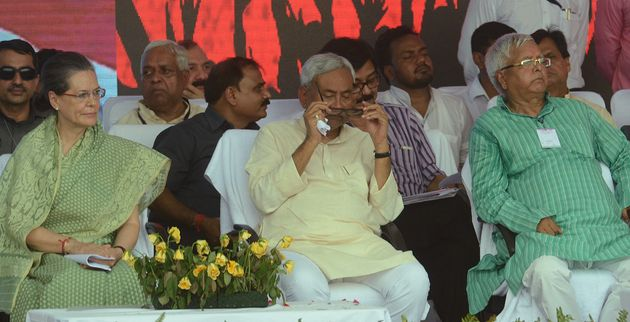 Why Red And Yellow Are Nitish-Lalu's Colours This Bihar