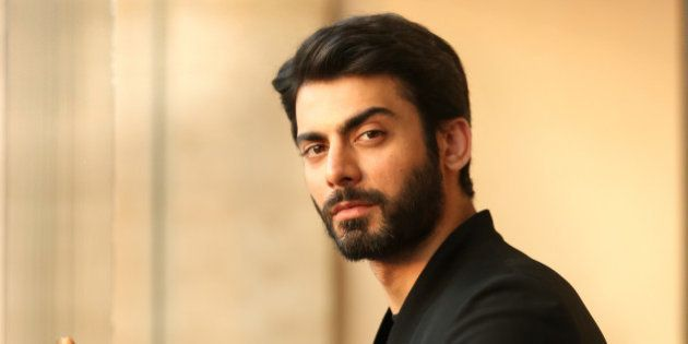 NEW DELHI, INDIA - SEPTEMBER 15: Pakistani actor Fawad Khan pose for the profile shoot during the promotion of his upcoming movie Khoobsurat on September 15, 2014 in New Delhi, India. (Photo by Raajessh Kashyap/Hindustan Times via Getty Images)