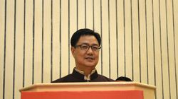 BJP Minister Kiren Rijiju Concurs With Governor Khanna That 'North Indians' Pride In Breaking The