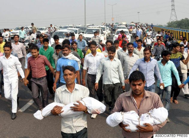 V.K. Singh On Dalit Children Burnt Alive: Government Can't Be Blamed If Someone Stones A