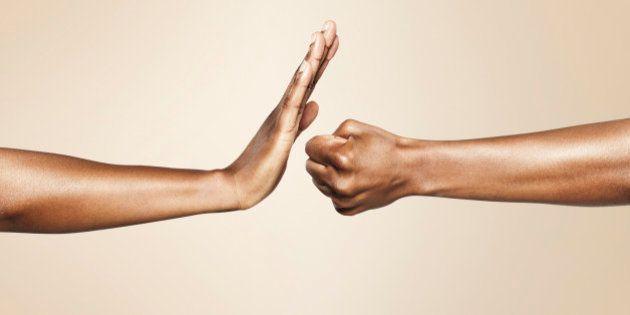 hands, studio, symbol, brown, skin, beautiful,