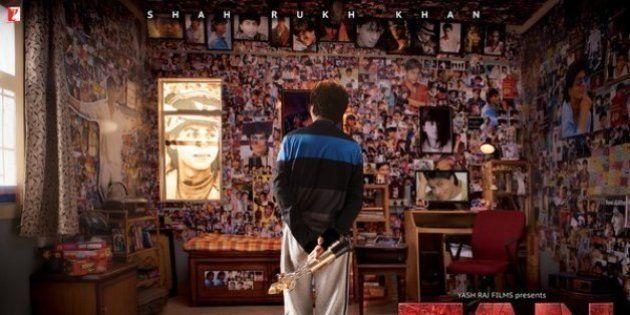 First Poster of Shah Rukh Khan's 'Fan'