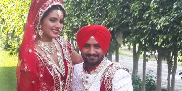 You Cannot Miss These Stunning Photos Of Harbhajan Singh And Geeta Basra Just Before Their