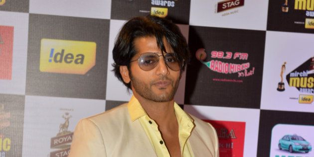 MUMBAI, INDIA FEBRUARY 26: Karanvir Bohra at Mirchi music awards in Mumbai.(Photo by Milind Shelte/India...