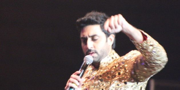 Abhishek Bachchan | SLAM The Tour - 20 September 2014 - IZOD Center, East Rutherford, New Jersey. Photo...