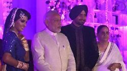PHOTOS: In Between All The Bihar Rallies, PM Modi Made A Cameo At Harbhajan Singh's