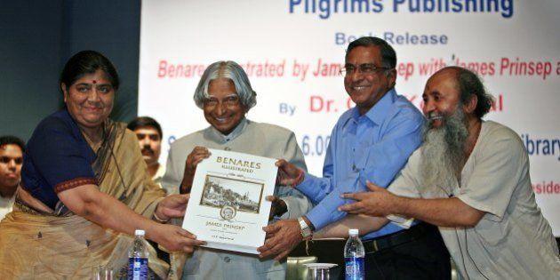 NEW DELHI, INDIA � SEPTEMBER 08: (From left) Mridula Mukherjee, director Nehru Memorial Museum and...