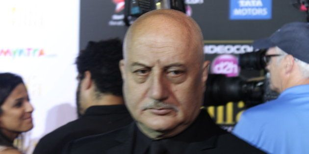 Anupam Kher. Photo by James C.