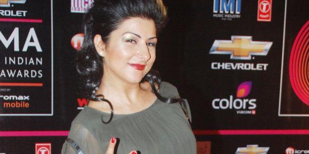 MUMBAI, INDIA � NOVEMBER 10: Hard Kaur during the Global Indian Music Awards function in Mumbai on...