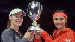 San-Tina Clinch Year's 9th World Tennis Association