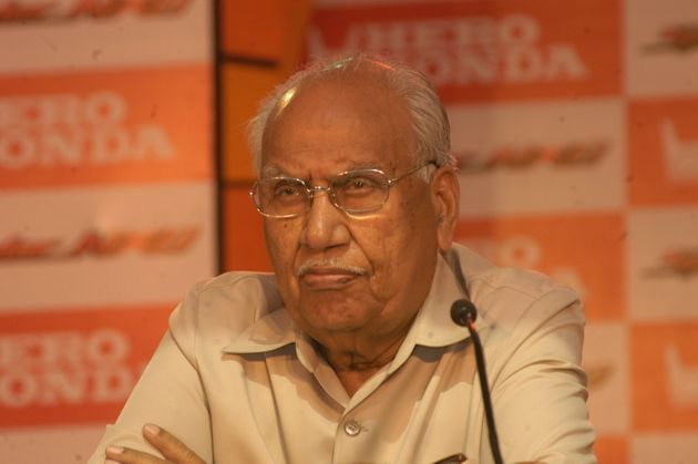 Hero MotoCorp Chairman Brijmohan Lall Munjal Dies At 92 After Brief