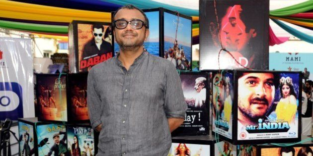 Indian Bollywood film director, screenwriter, producer Dibakar Banerjee attends the Jio MAMI 17th Mumbai Film Festival 'Movie Mela' in Mumbai on October 31, 2015. AFP PHOTO (Photo credit should read STR/AFP/Getty Images)