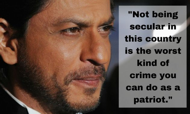 Shah Rukh Khan: There Is Growing Intolerance In The