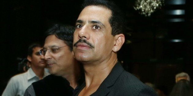 NEW DELHI, INDIA NOVEMBER 1: Robert Vadra during a fashion show by Indian designer Payal Jain on November...