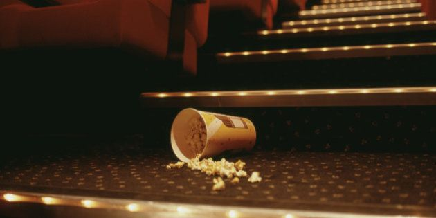 Popcorn in Theater