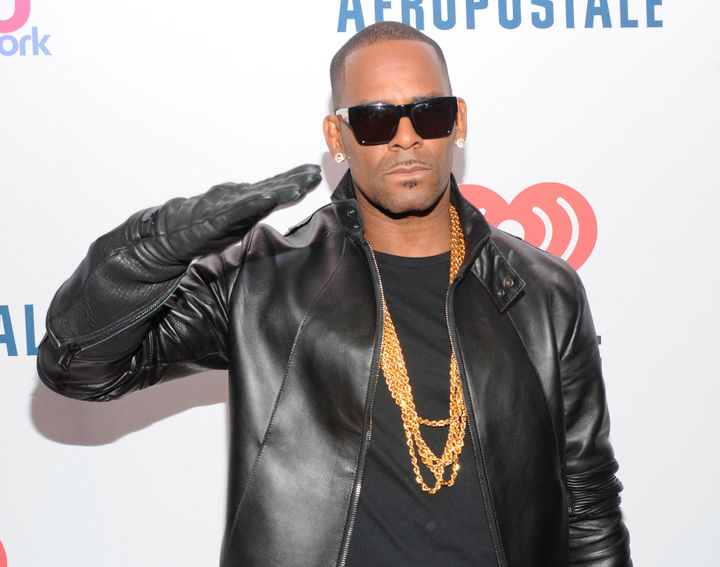 R. Kelly attends the Z-100 New York Jingle Ball on Dec. 13, 2013, in Madison Square Garden in New York City.