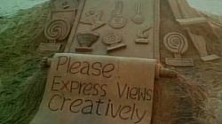Returning Awards Isn't Right, Express Views Creatively, Says Sand Artist Sudarshan