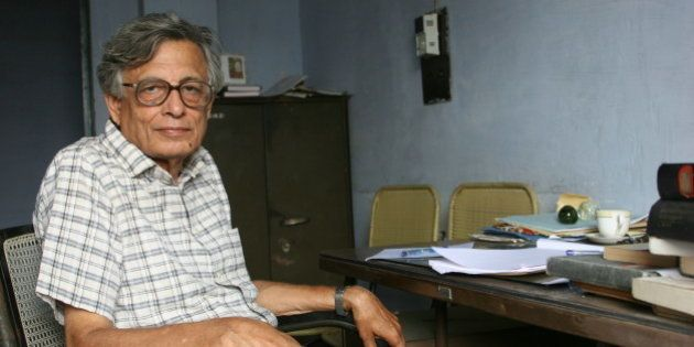 INDIA - SEPTEMBER 09: Professor Irfan Habib, Marxist Indian historian, professor in the Aligarh Muslim...