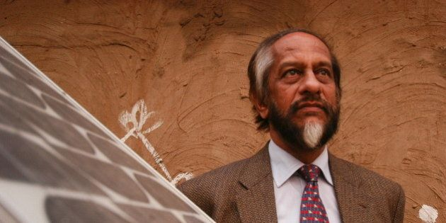 INDIA - FEBRUARY 05: Dr Rajendra K Pachauri, Director-General of the Tata Energy Research Institute,...