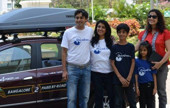 This Family's 111-Day Road Trip From Bengaluru To Paris Will Make You Want To Take A Holiday