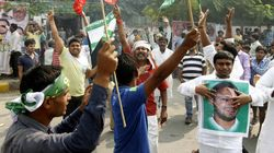 Bihar Elections: RJD Supporter Celebrating Win Beaten To