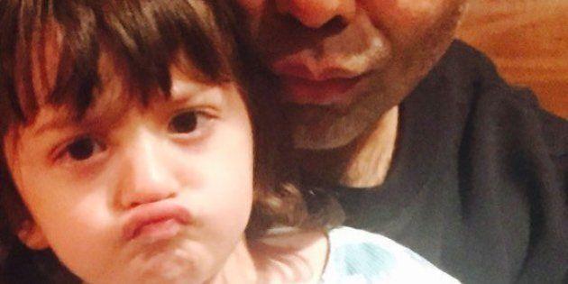 SRK's Son AbRam And Karan Johar Take A Pout Selfie To Celebrate