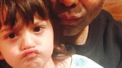 SRK's Son AbRam And Karan Johar Take A Pout Selfie To Celebrate