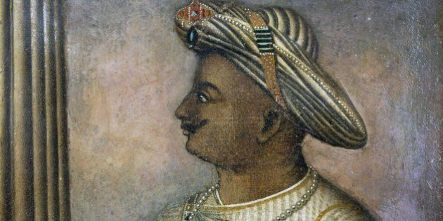 INDIA - CIRCA 2003: Tipu Sultan (1750-1799), also known as the Tiger of Mysore, Sultan of Mysore from...