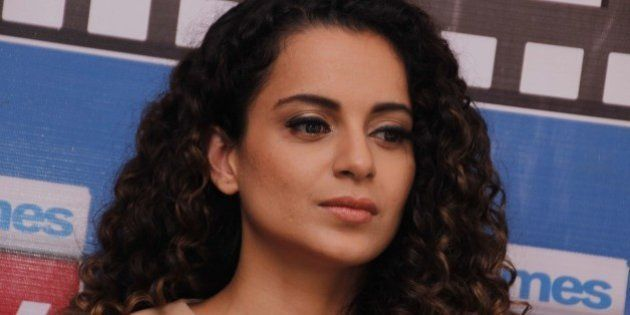 NEW DELHI, INDIA - AUGUST 26: Bollywood actor Kangana Ranaut during an exclusive interview with HT City-Hindustan...