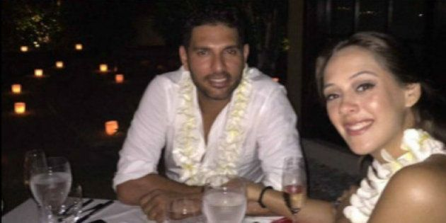 Yuvraj Singh And Actress Hazel Keech Secretly Get Engaged In Bali: