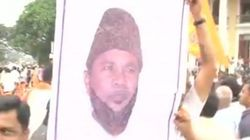 VHP Activists Burn CM Siddaramaiah's Effigy As Tipu Sultan Protests Rage