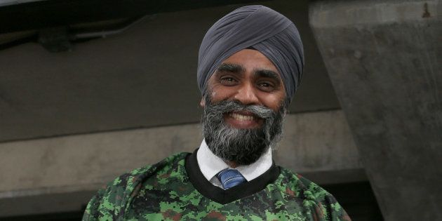 OTTAWA, ON - NOVEMBER 12: The newly elected Canadian Minister of National Defence, The Honourable Harjit...