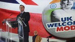 Cameron's Message To Modi's India: Acche Din Zaroor