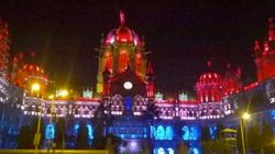 Mumbai's Chhatrapati Shivaji Terminus Lit Up In Solidarity With France... With Dutch Flag