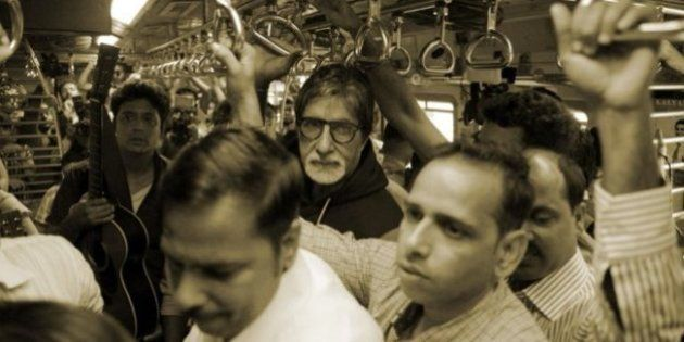 Amitabh Bachchan Takes Mumbai Local To Support A