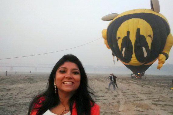 Why Everyone Should Take A Hot Air Balloon Ride Above The Taj
